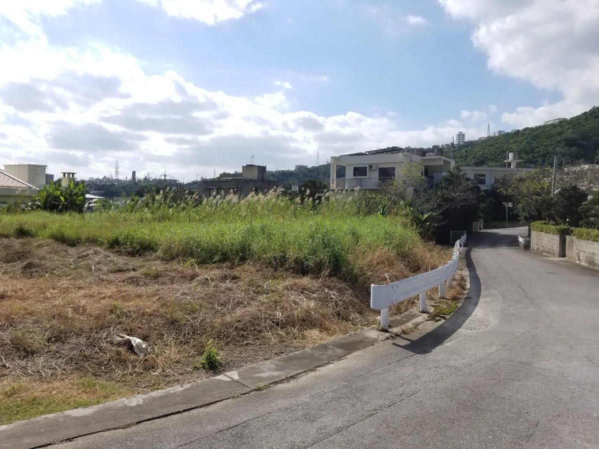 中城村奥間・売土地